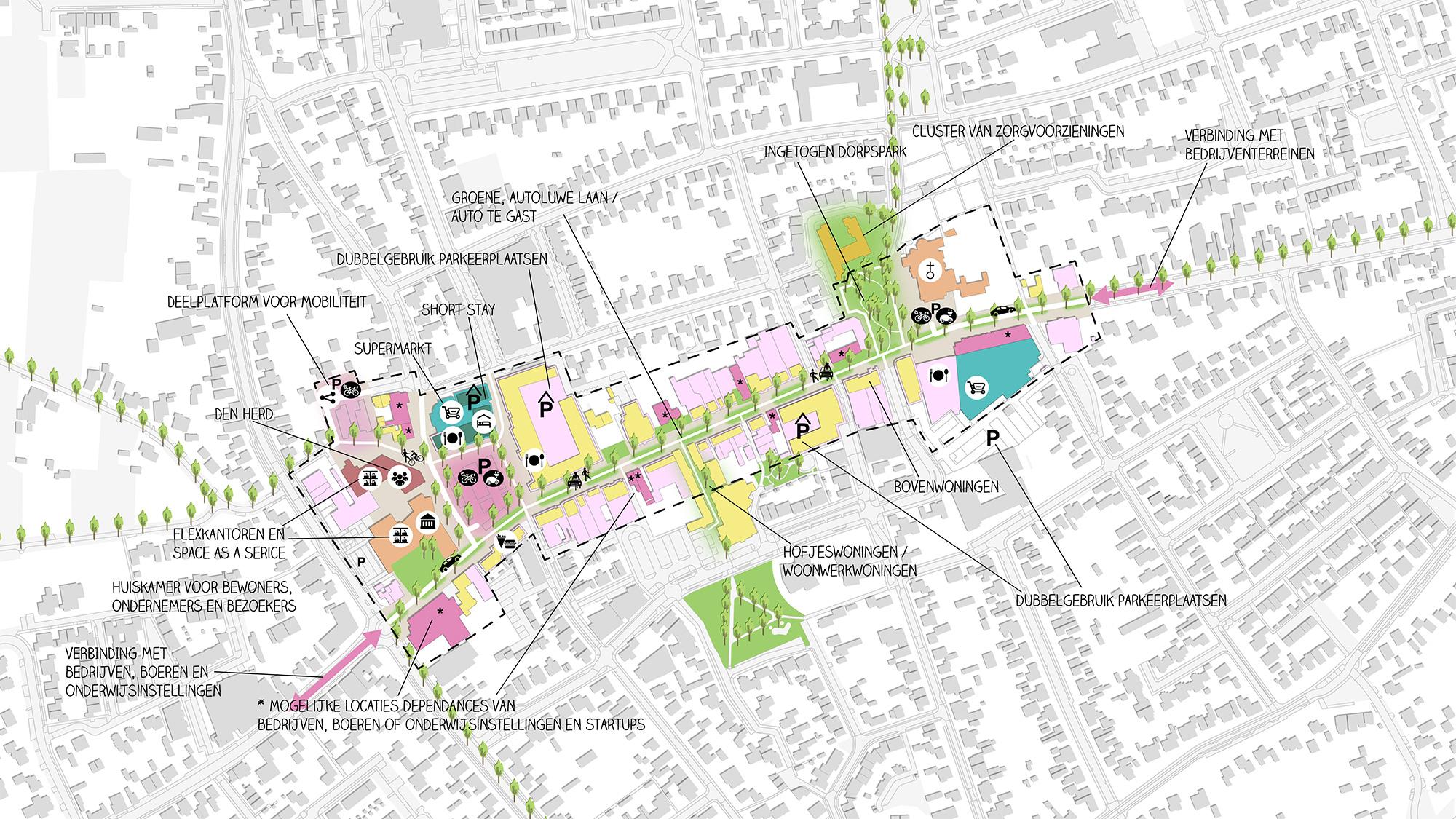 Vision for Bladel's centre 5
