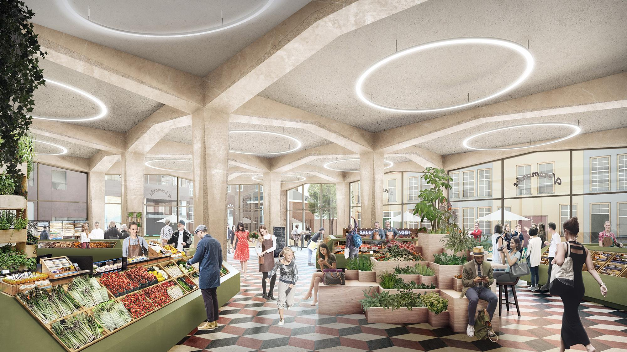 Markthal Mercado en luxe appartementen 1